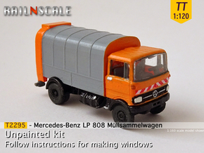 Mercedes-Benz LP 808 Müllsammelwagen (TT 1:120) in Smooth Fine Detail Plastic