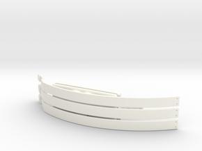 Choker in White Processed Versatile Plastic