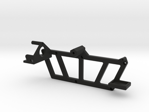 TRX-4, Rear Mounting Rack - Tire, Gas Cans, & Jack in Black Premium Strong & Flexible