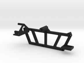 TRX-4, Rear Mounting Rack - Tire, Gas Cans, & Jack in Black Premium Versatile Plastic