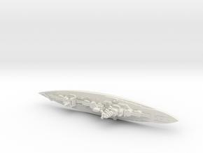 Hyuga BB 1/1800 in White Premium Versatile Plastic