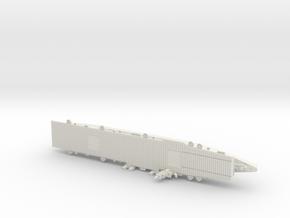 USS Independence CV 1/1800 in White Premium Versatile Plastic
