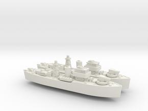 HMNZS Kiwi 1/1800 in White Premium Versatile Plastic