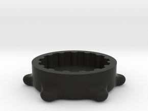 ATN X-Sight II Focus Ring in Black Natural Versatile Plastic
