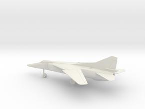 MiG-23BN Flogger-H in White Natural Versatile Plastic: 1:72