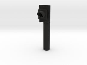 UK Level Crossing Train Indication Light Older Ver in Black Natural Versatile Plastic
