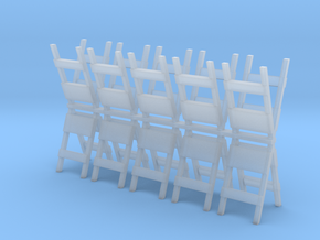 Barricade 1-87 HO Scale (10) in Smooth Fine Detail Plastic
