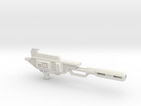 Ionic Displacer Rifle for TR Astrotrain in White Premium Strong & Flexible