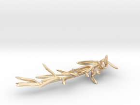 Rosemary Pendant in 14K Yellow Gold