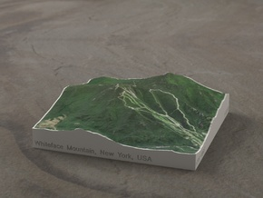 Whiteface Mtn., NY, USA, 1:50000 Explorer in Full Color Sandstone