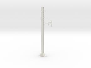 PRR 1T BRACKET STEADY in White Natural Versatile Plastic