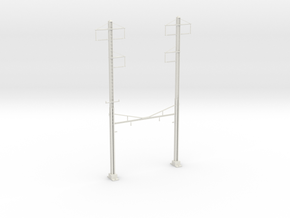 PRR CH 3PHASE+3PHASE  V2 CATENARY STEADY in White Strong & Flexible