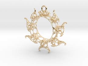 JkMRing in 14K Yellow Gold