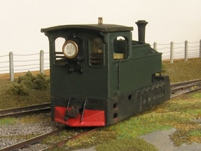 TTn3 Clogher Valley Tram Engine in Smooth Fine Detail Plastic