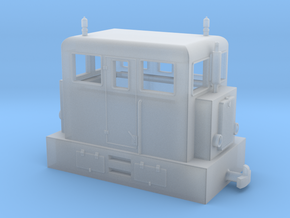 "Diesel loco H0e ""PocketBahn"" in Smooth Fine Detail Plastic"