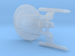 Enterprise_NX-01_Refit in Smooth Fine Detail Plastic