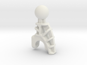 Av Matoran Limb in White Natural Versatile Plastic
