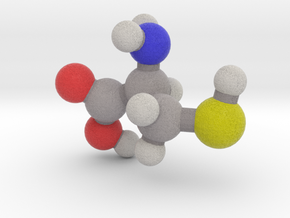 L-cysteine in Full Color Sandstone