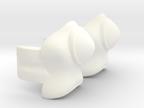 Herobootcovers in White Processed Versatile Plastic