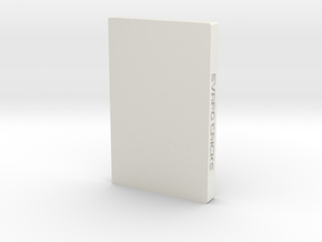 E-Liquid Organizer in White Natural Versatile Plastic