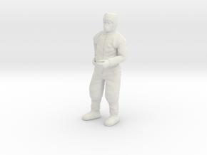 Clean Room Scientist 1:12 in White Natural Versatile Plastic