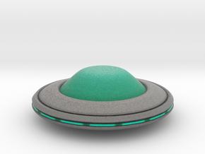 Invasion Saucer in Full Color Sandstone
