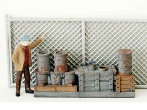 Chain Link Fencing N scale  in Smooth Fine Detail Plastic