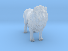 Printle Thing Lion - 1/72 in Smooth Fine Detail Plastic
