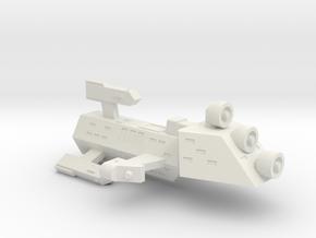 3788 Scale Kzinti Scout Frigate SRZ in White Natural Versatile Plastic