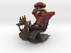 Nerd Engineer in Full Color Sandstone