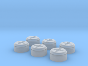 1/16 Tiger 1 bung plugs in Smooth Fine Detail Plastic