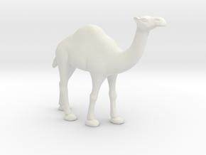 Printle Thing Dromedary - 1/24 in White Natural Versatile Plastic