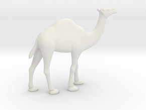 Printle Thing Dromedary - 1/35 in White Natural Versatile Plastic