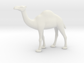 Printle Thing Dromedary - 1/72 in White Natural Versatile Plastic