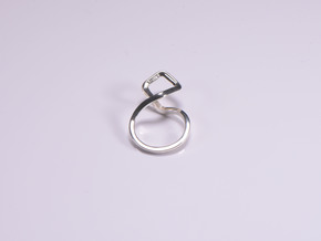 A-LINE Dancing D.011 Sharp, US size 5, d=15,5mm in Polished Silver: 5 / 49
