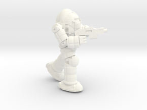 Ogre BattleSuit (Pose1) in White Processed Versatile Plastic