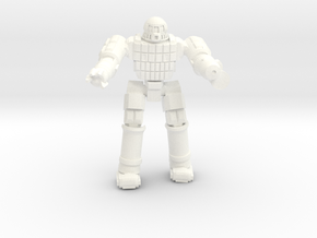 Ares IV Battlesuit  (Pose 3) in White Processed Versatile Plastic