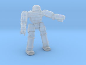 Ares IV Battlesuit  (Pose 2) in Smooth Fine Detail Plastic