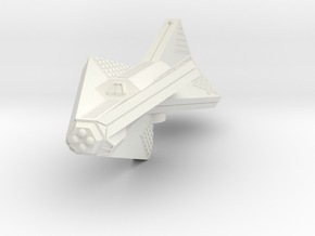 3788 Scale Tholian New Heavy Cruiser (CAN) SRZ in White Natural Versatile Plastic