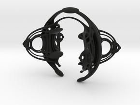 METROPOLIS Bracelet in Black Premium Versatile Plastic