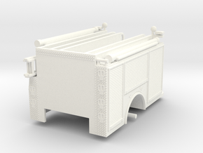 1/64-Scale Contemporary Urban Pumper Body in White Processed Versatile Plastic