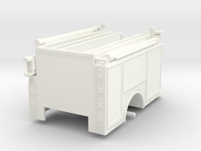1/64-Scale Contemporary Urban Pumper Body in White Processed Versatile Plastic