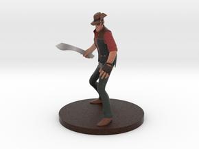 Team Fortress 2 ® Sniper figurine in Full Color Sandstone