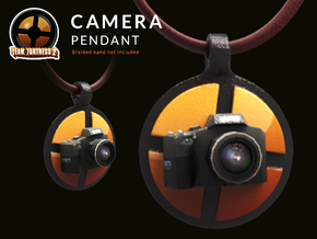 Camera Team Fortress - Pendant | Keychain in Glossy Full Color Sandstone