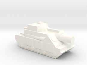 (Free DWNLD) Slugger Siege Tank  in White Strong & Flexible Polished