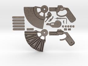 Perfume pistol steel version. in Stainless Steel