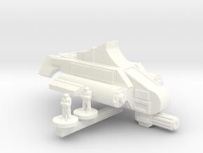 Viper VTOL in White Strong & Flexible Polished