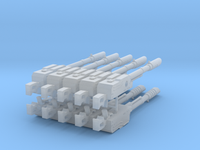 PKM lascannon big pack in Smooth Fine Detail Plastic
