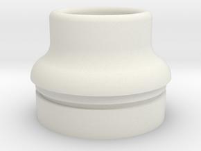 Chuppy in White Natural Versatile Plastic