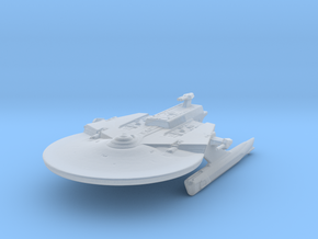 Federation Soyuz Class Medium Cruiser 1:7000 in Smooth Fine Detail Plastic